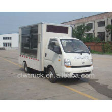 High quality Eruo IV Foton 4*2 mini mobile stage truck for roadshow
